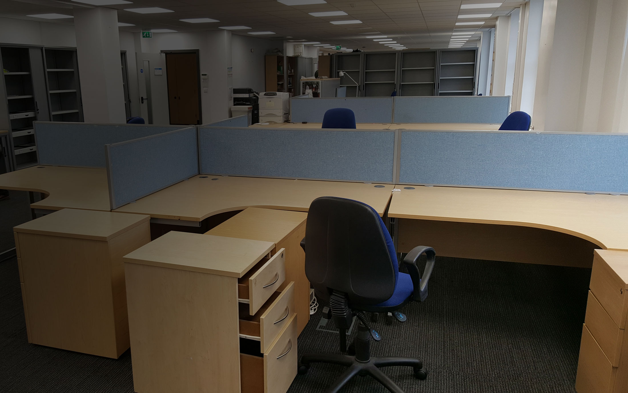 Environmentally-friendly services - recycling and reusing office chairs and desks