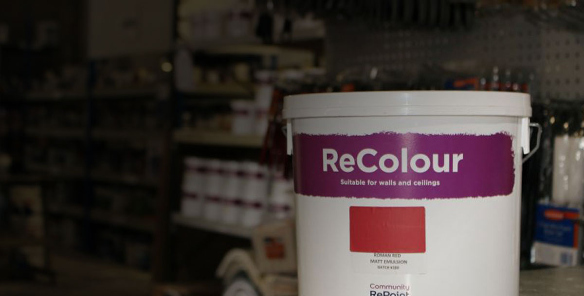 re-manufactured paint
